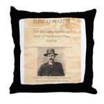 Reward Mysterious Dave Throw Pillow