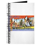 Santa Cruz California Greetings Journal
