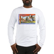 Santa Cruz California Greetings Long Sleeve T-Shir