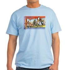 Santa Cruz California Greetings T-Shirt