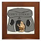 Blue Lodge goes Gray Framed Tile