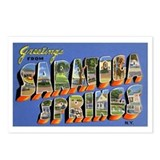 Saratoga Springs New York Postcards (Package of 8)