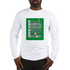 Fisherman Hiker Father/Dad Long Sleeve T-Shirt