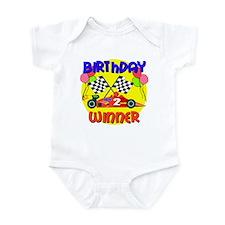 Racecar 2nd Birthday Infant Bodysuit