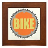 Bike chain ring Framed Tile