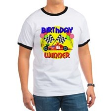 Racecar 6th Birthday T