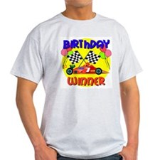 Racecar 7th Birthday T-Shirt