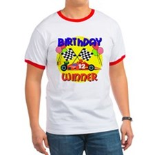 Racecar 12th Birthday T