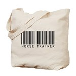 Horse Trainer Barcode Tote Bag