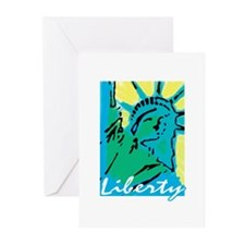Lady Liberty Greeting Cards (Pk of 10)