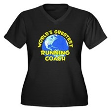 World's Greatest Runni.. (D) Women's Plus Size V-N