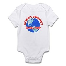 World's Greatest Smelter (F) Infant Bodysuit