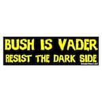 Bush is Vader Bumper Sticker