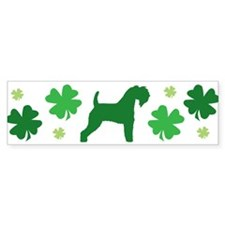Kerry Blue & Shamrocks #2 Bumper Bumper Sticker