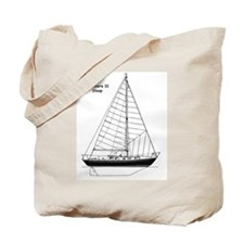 Offshore 31 Sloop Tote Bag