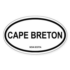 Cape Breton Oval Decal