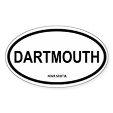 Dartmouth Oval Decal