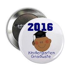 """Boy Kindergarten Grad 2013 2.25"""" Button"""