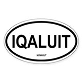 Iqaluit Oval Decal