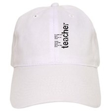 If A Child Can't Learn (Black Baseball Cap