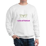 I Love Butterflies Sweatshirt
