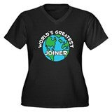 World's Greatest Joiner (G) Women's Plus Size V-Ne