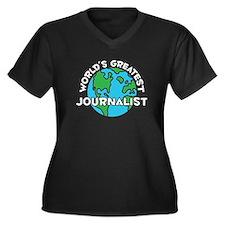 World's Greatest Journ.. (G) Women's Plus Size V-N
