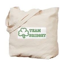 Team Bridget Tote Bag