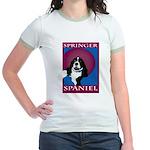 SPRINGER SPANIEL Jr. Ringer T-Shirt