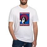 SPRINGER SPANIEL Fitted T-Shirt