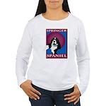 SPRINGER SPANIEL Women's Long Sleeve T-Shirt