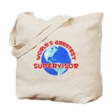 World's Greatest Super.. (F) Tote Bag