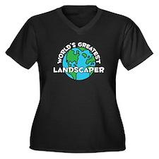 World's Greatest Lands.. (G) Women's Plus Size V-N
