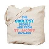 Coolest: St. Jacobs, ON Tote Bag