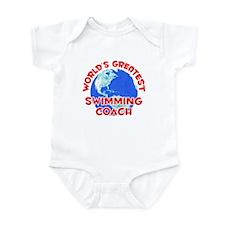World's Greatest Swimm.. (F) Infant Bodysuit