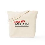 Contain McCain Tote Bag