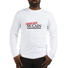 Contain McCain Long Sleeve T-Shirt
