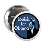 Louisiana for Obama Campaign Button