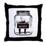 Contain McCain (in a jar) Throw Pillow