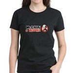 McCain is insane Women's Dark T-Shirt