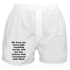Few words Boxer Shorts