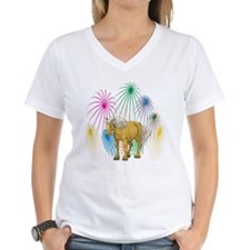 Belgian Horse 4th Of July Fireworks Shirt