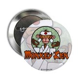 "Monkey Zen 2.25"" Button"