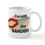 I'm with the Banders Mug