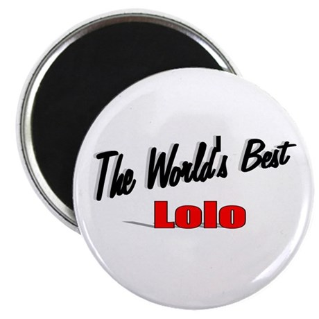 """The World's Best Lolo"" Magnet"
