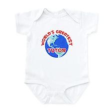 World's Greatest Tutor (F) Infant Bodysuit