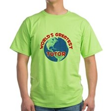 World's Greatest Tutor (F) T-Shirt