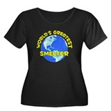 World's Greatest Smelter (D) Women's Plus Size Sco