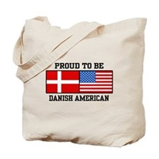 Proud Danish American Tote Bag