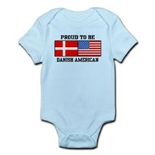 Proud Danish American Infant Bodysuit